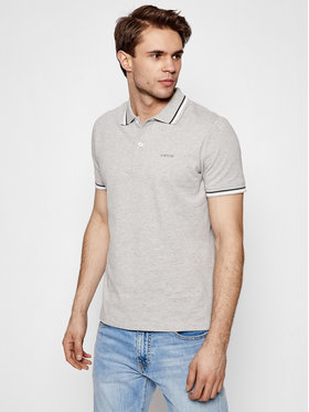 Geox Geox Tricou polo Sustainable M1210A T2820 F1019 Gri Regular Fit