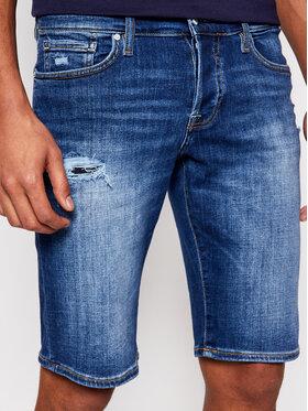 Guess Guess Szorty jeansowe M1GD01 D4CH1 Niebieski Regular Fit