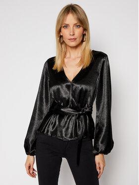 Guess Guess Блуза W0RH52 R95V0 Черен Regular Fit