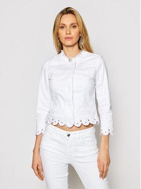 Liu Jo Liu Jo Farmer kabát WA1095 T4033 Fehér Slim Fit