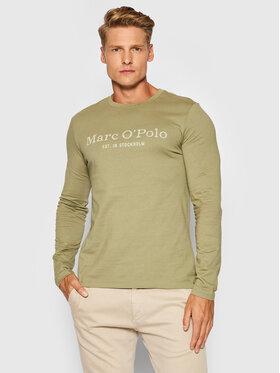 Marc O'Polo Marc O'Polo Marškinėliai ilgomis rankovėmis 127 2220 52152 Žalia Regular Fit