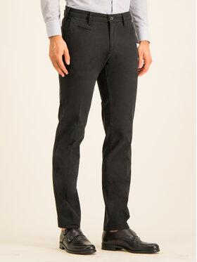 Digel Digel Bavlnené nohavice 88140 Čierna Regular Fit