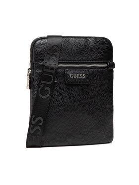 Guess Guess Мъжка чантичка Riviera HMRIVI P1323 Черен