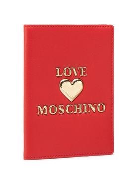 LOVE MOSCHINO LOVE MOSCHINO Custodie per documenti JC5624PP1CLF0500 Rosso