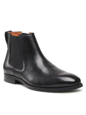 Gino Rossi Gino Rossi Členková obuv s elastickým prvkom 120AM1282 Čierna