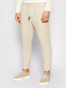 Only & Sons ONLY & SONS Pantaloni din material Slinus 22019199 Bej Regular Fit