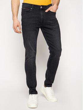 Tommy Jeans Tommy Jeans Džinsai Simon DM0DM09812 Juoda Skinny Fit
