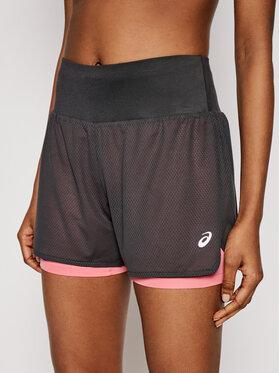 Asics Asics Pantaloncini sportivi Ventilate 2-N-1 3.5In 2012A772 Grigio Regular Fit