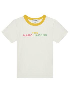 Little Marc Jacobs Little Marc Jacobs T-Shirt W15581 S Weiß Regular Fit
