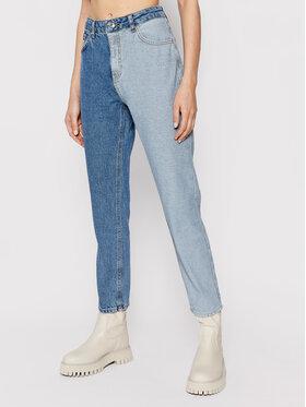 Vero Moda Vero Moda Džínsy Tracy 10254055 Modrá Straight Fit
