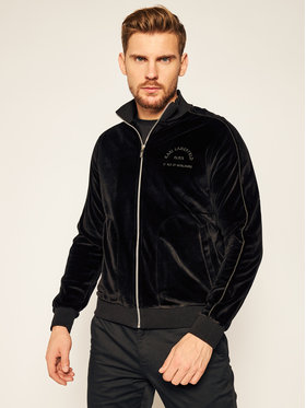 KARL LAGERFELD KARL LAGERFELD Džemperis Sweat Zip 705029 502912 Juoda Regular Fit