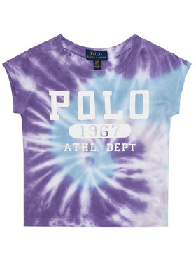 Polo Ralph Lauren Polo Ralph Lauren Póló Tie Dye Tee 311803031002 Lila Regular Fit