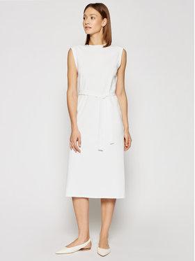 Marella Marella Každodenné šaty Bino 36210315 Biela Regular Fit