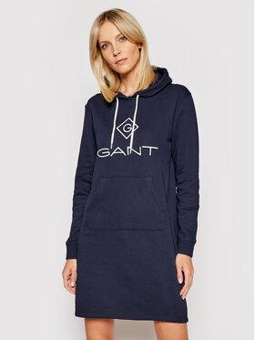 Gant Gant Kötött ruha Lock Up 4204356 Sötétkék Regular Fit