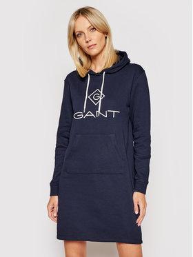 Gant Gant Trikotažinė suknelė Lock Up 4204356 Tamsiai mėlyna Regular Fit