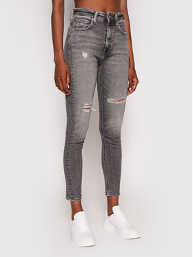 Calvin Klein Jeans Calvin Klein Jeans Джинси J20J215890 Сірий Skinny Fit