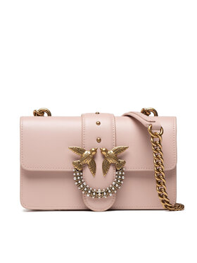 Pinko Pinko Torebka Love Mini Icon Simply Je Cl. AL 21-22 PLTT 1P22AE Y6XT Różowy