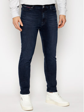 Tommy Jeans Tommy Jeans Blugi Skinny Fit Simon DM0DM09770 Bleumarin Skinny Fit