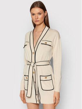 Elisabetta Franchi Elisabetta Franchi Φόρεμα υφασμάτινο AM-34S-16E2-V390 Μπεζ Slim Fit