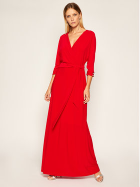 Lauren Ralph Lauren Lauren Ralph Lauren Vakarinė suknelė Long Gown W 253792268001 Raudona Regular Fit