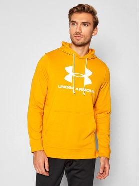 Under Armour Under Armour Bluza Ua Sportstyle Terry Logo 1348520 Żółty Loose Fit
