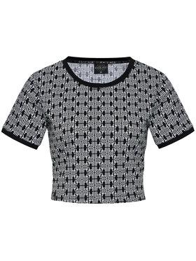 Rage Age Rage Age T-Shirt Cropptop 1 Černá Regular Fit