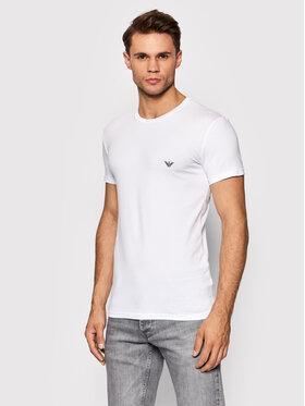 Emporio Armani Underwear Emporio Armani Underwear T-Shirt 111035 1A512 00010 Biały Slim Fit