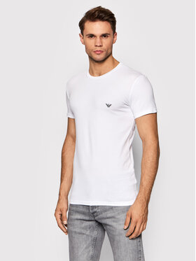 Emporio Armani Underwear Emporio Armani Underwear Тишърт 111035 1A512 00010 Бял Slim Fit