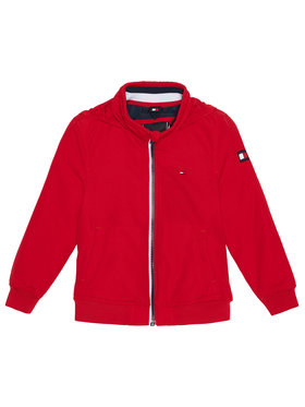 TOMMY HILFIGER TOMMY HILFIGER Giacca di transizione Essential KB0KB06094 Rosso Regular Fit