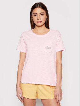 Roxy Roxy Tričko Star Solar A ERJZT05162 Ružová Regular Fit