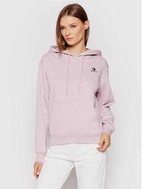 Converse Converse Sweatshirt Embr S.Chev 10020872-A17 Rose Regular Fit