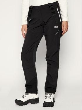 Jack Wolfskin Jack Wolfskin Spodnie narciarskie Gravity Tour 1505121-6000 Czarny Regular Fit