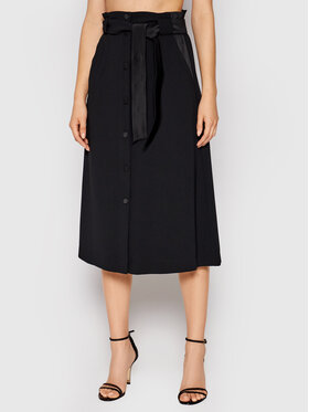 Marella Marella Midi sukně Gardena 31060413 Černá Regular Fit