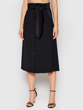Marella Marella Midi suknja Gardena 31060413 Crna Regular Fit