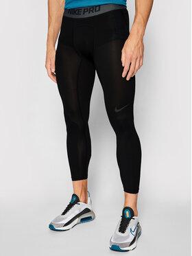 Nike Nike Legginsy Pro 3/4 Basketball AT3383 Czarny Tight Fit
