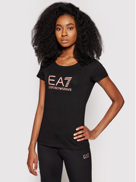 EA7 Emporio Armani EA7 Emporio Armani T-shirt 8NTT63 TJ12Z 212 Nero Regular Fit