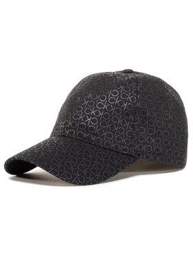 Calvin Klein Calvin Klein Καπέλο Jockey Monogram K60K606730 Μαύρο