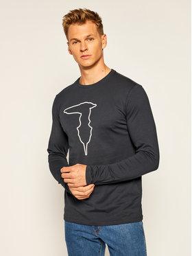 Trussardi Jeans Trussardi Jeans S dlhými rukávmi 52T00419 Tmavomodrá Regular Fit