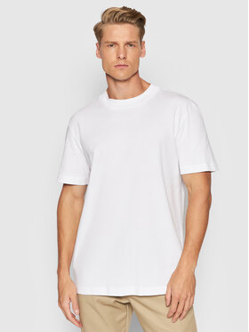 Selected Homme Selected Homme T-Shirt Colman 200 16077385 Bílá Relaxed Fit