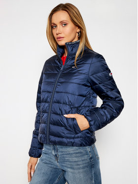 Tommy Jeans Tommy Jeans Pūkinė striukė Tjw Quilted DW0DW09933 Tamsiai mėlyna Regular Fit