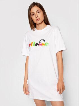 Ellesse Ellesse Kleid für den Alltag Inka SGF10515 Weiß Loose Fit