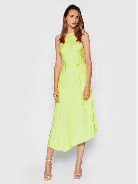 Calvin Klein Calvin Klein Sukienka codzienna Shine K20K203066 Zielony Regular Fit