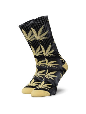HUF HUF Skarpety Wysokie Unisex Plantlife Tiedye Sock SK00432 r.OS Czarny