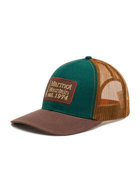 Marmot Marmot Czapka z daszkiem Retro Trucker Hat 16410 Brązowy