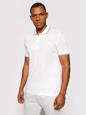 Baldessarini Baldessarini Polo marškinėliai 10011/000/5039 Balta Regular Fit