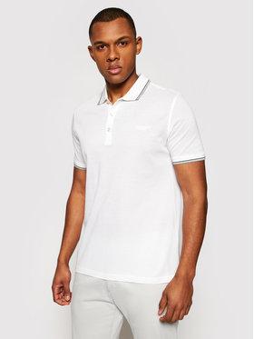 Baldessarini Baldessarini Polohemd 10011/000/5039 Weiß Regular Fit