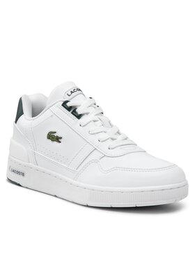 Lacoste Lacoste Sneakersy T-Clip 0121 1 Suj 7-42SUJ00041R5 Biela