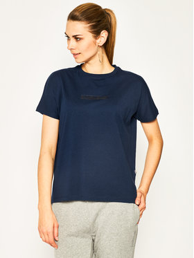 Napapijri Napapijri T-Shirt Sione NP0A4E3SB Granatowy Oversize
