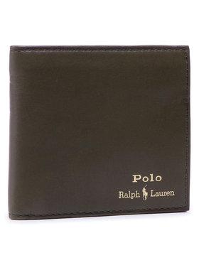 Polo Ralph Lauren Polo Ralph Lauren Didelė Vyriška Piniginė Mpolo SP21 D2 405803866003 Žalia