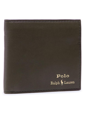 Polo Ralph Lauren Polo Ralph Lauren Голям мъжки портфейл Mpolo SP21 D2 405803866003 Зелен